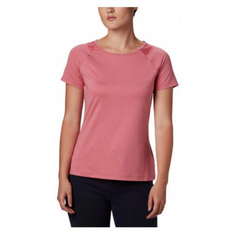 Columbia PEAK TO POINT II SS TEE rosa - Damen Shirt