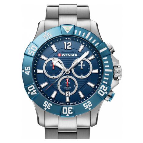 Wenger 01.0643.119 Seaforce Taucher-Chronograph 43mm 20ATM
