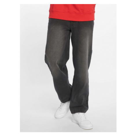 Ecko Unltd. / Loose Fit Jeans Globe Grid in black