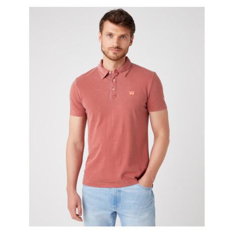 Wrangler Poloshirt Rot