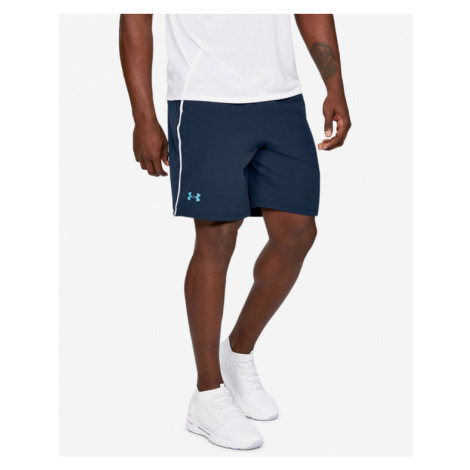 Under Armour Qualifier Shorts Blau