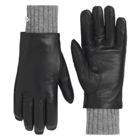 Damen Leder Handschuhe Kari Traa Gjerde Black