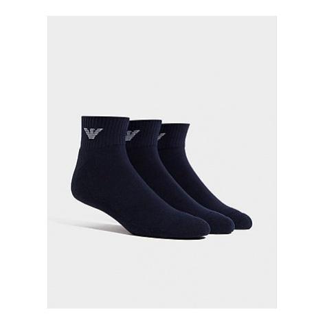 Emporio Armani 3-Pack Trainer Socken - Herren