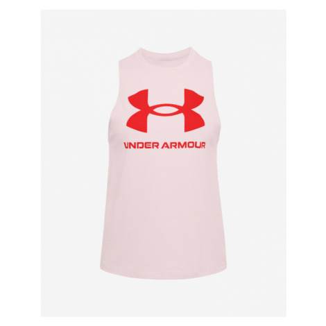 Under Armour Sportstyle Graphic Unterhemd Rosa