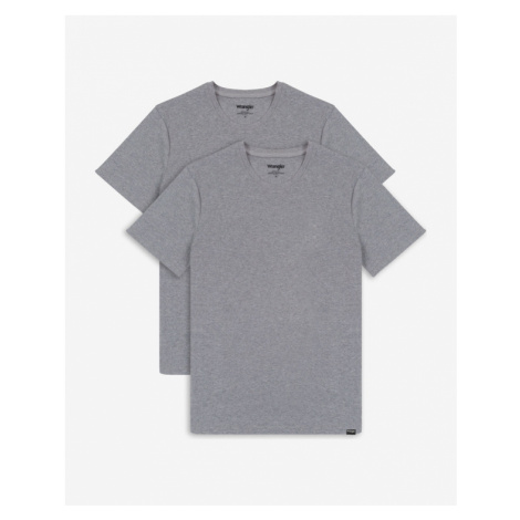 Wrangler T-Shirt 2 St. Grau