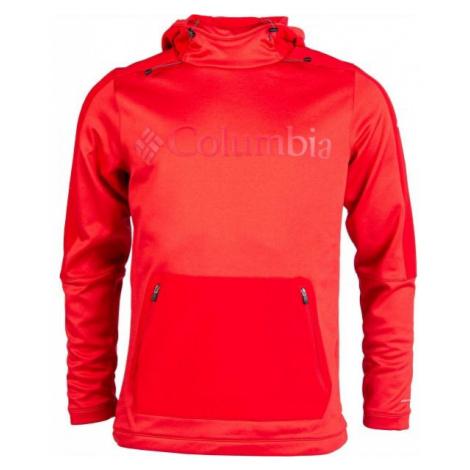 Columbia MAXTRAIL MIDLAYER TOP rot - Herren Sweatshirt