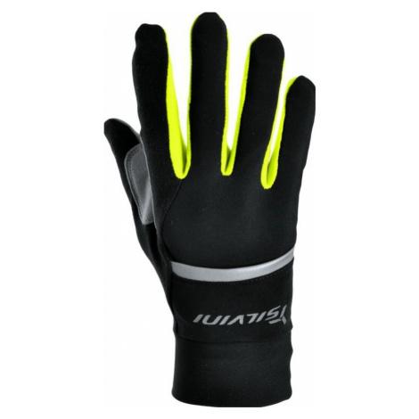 Unisex Handschuhe Silvini Isonzo UA905 black-neon