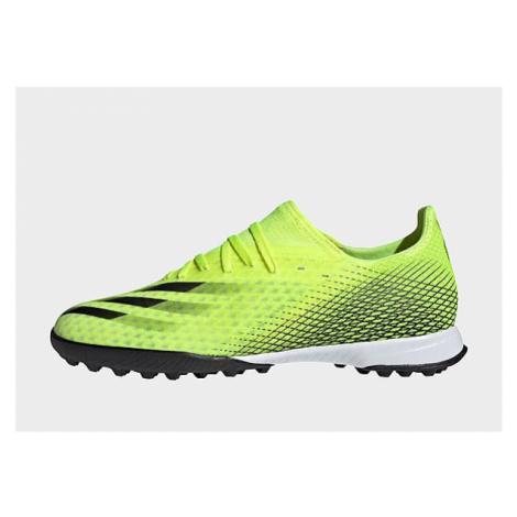 Adidas X Ghosted.3 TF Fußballschuh - Solar Yellow / Core Black / Royal Blue - Damen, Solar Yello