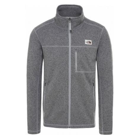 The North Face GORDON LYONS FZ grau - Sweatshirt für Herren