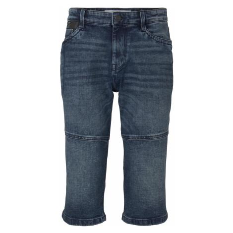 TOM TAILOR Herren Morris Relaxed Bermuda Jeans-Shorts, braun