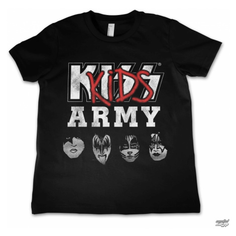 Metal T-Shirt Männer Kinder Kiss - Army - HYBRIS - ER-12-KISS030-H68-5-BL