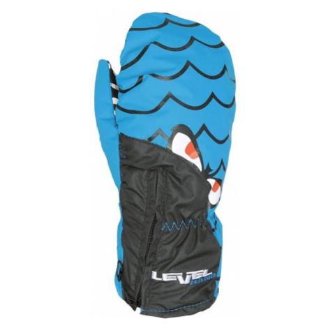 Level LUCKY MITT JR blau - Skihandschuhe für Kinder