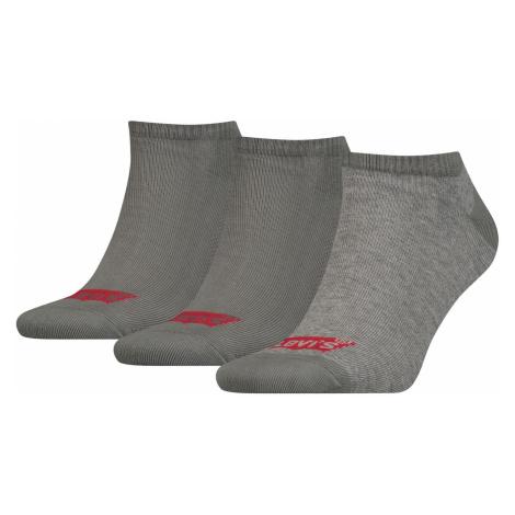 Levis Unisex Sneaker Sportsocken Low Cut Batwing Logo 3er Pack Levi´s
