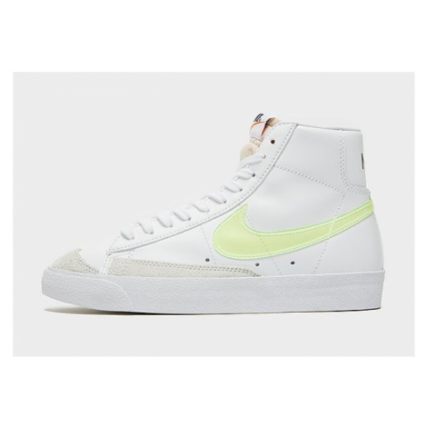 Nike Nike Blazer Mid '77 Essential Damenschuh - White/Orange/Black/Volt - Damen, White/Orange/Bl