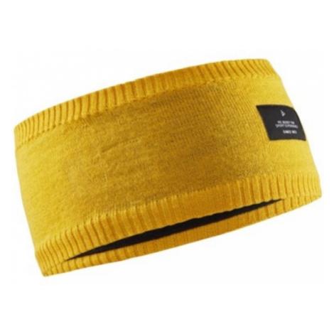 Stirnband CRAFT Urban Knit 1907910-557000 yellow