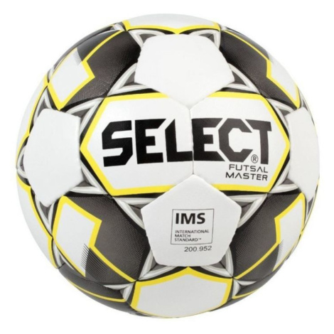 Futsal- Ball Select FB Futsal Master weiß yellow Grösse. 4