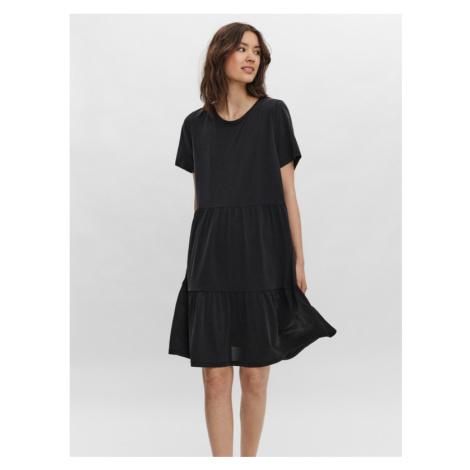 Vero Moda Filli Kleid Schwarz
