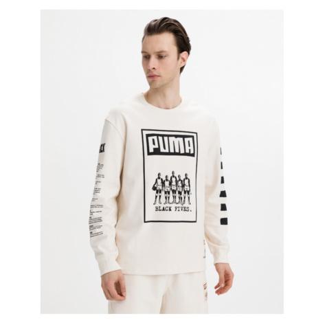 Puma Black Fives T-Shirt Beige
