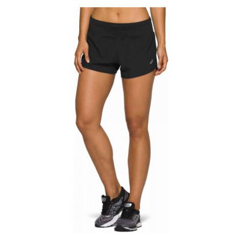 Asics ROAD 3.5IN SHORT schwarz - Damen Laufshorts