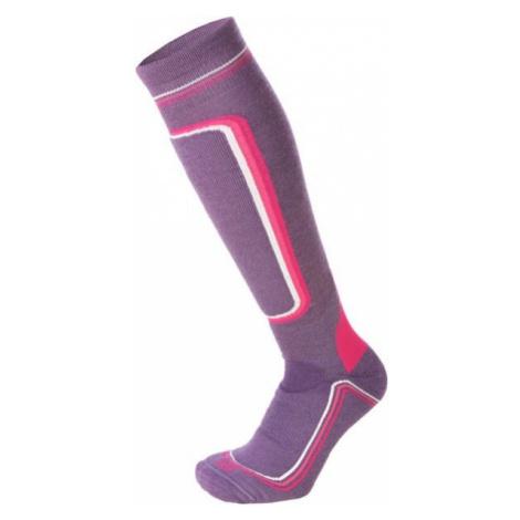 Mico HEAVY PRIMALOFT WOMAN SKI SOCKS W violett - Damen Skistrümpfe