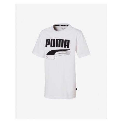 Puma Rebel Kinder  T‑Shirt Weiß