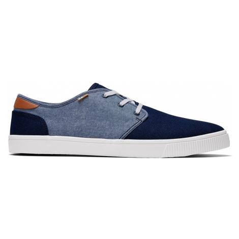 TOMS Sneaker Herren CARLO 10016353 Navy Canvas/Chambray
