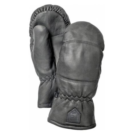 Handschuhe Hestra Leather Box Mitt svart