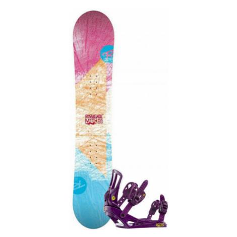 Rossignol RO MYTH LDC+MYTH S/M SET SNB - Damen Snowboard Set