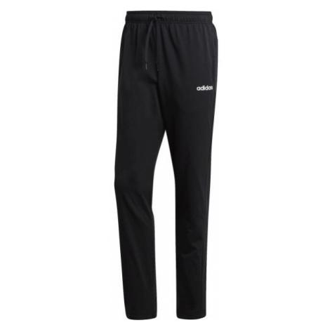 adidas ESSENTIALS PLAIN TAPERED PANT SINGLE JERSEY schwarz - Herren Trainingshose