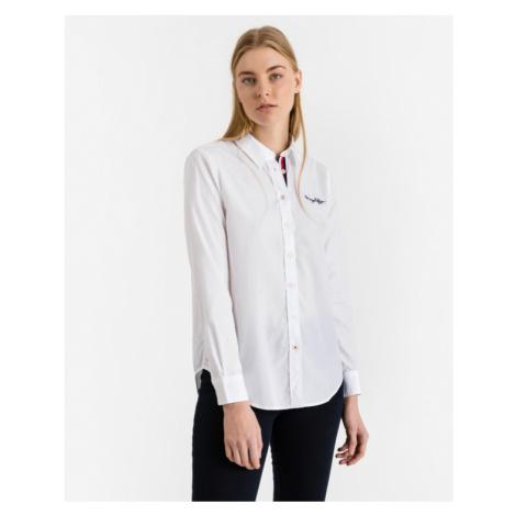 Tommy Hilfiger Beth Heritage Hemd Weiß