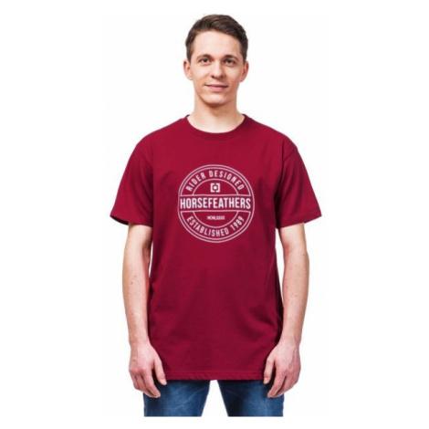 Horsefeathers HALLMARK T-SHIRT rot - Herren T- Shirt