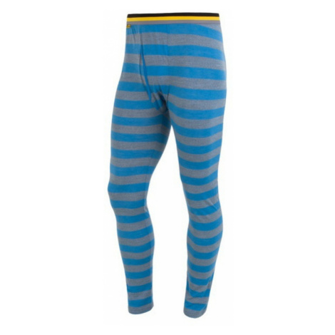 Herren Unterhose Sensor Merino Wool Active blue Streifen 16200094