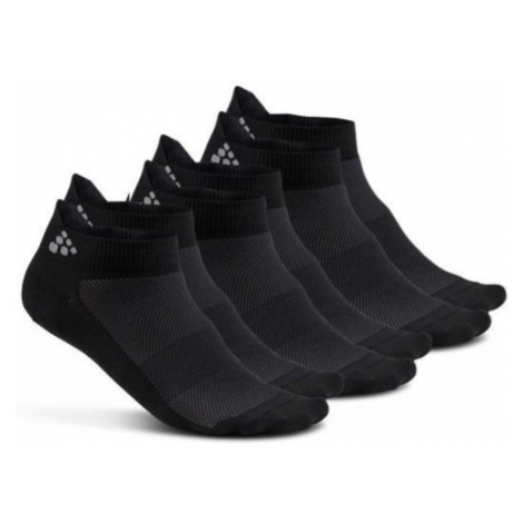 Socken CRAFT Shaftless 3-pack 1906059-999000 - black