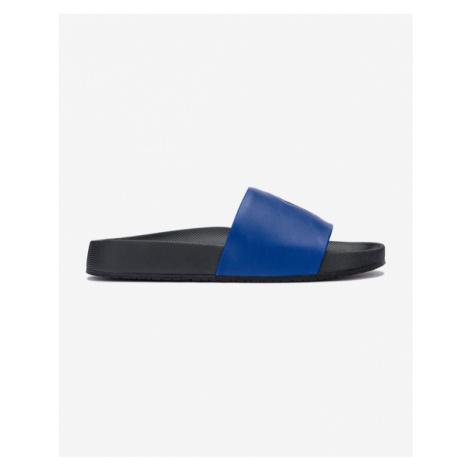 Polo Ralph Lauren Cayson Pantoffeln Schwarz Blau