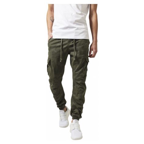 Urban Classics Herren Camo Cargo Jogging Pants