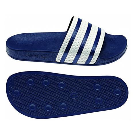 Adidas Originals Badelatschen ADILETTE G16220 Blau Weiß