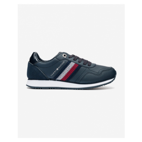 Tommy Hilfiger Tommy Leather Low Runner Tennisschuhe Blau