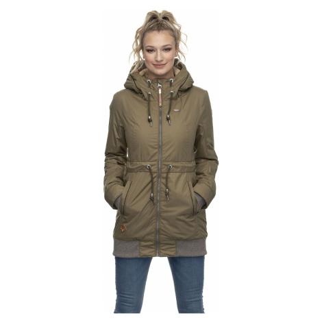 Ragwear Jacke Damen ZIRRCON 2021-60028 Khaki Olive 5031