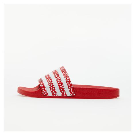 adidas Adilette W Ftw White/ Vivid Red/ Ftw White