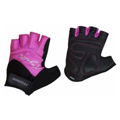 Damen Handschuhe  Fahrrad Rogelli DOLCE, Pink 010.613.