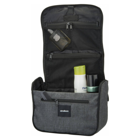 Strellson Kulturbeutel / Beauty Case Northwood WashBag LHZ Dark Grey (7.7 Liter)
