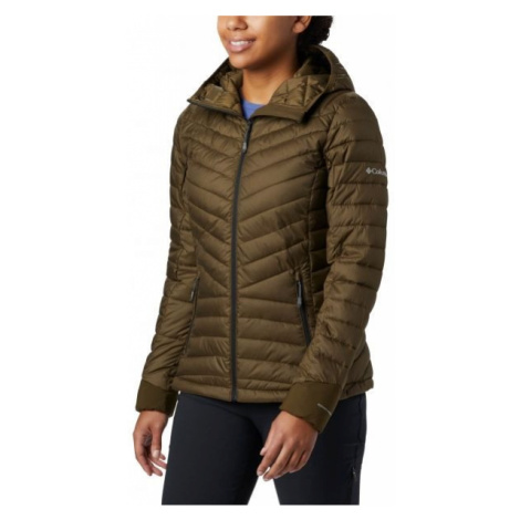 Columbia WINDGATES HOODED JACKET braun - Damenjacke