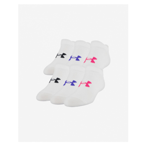 Under Armour Essentials Kids socks 6 pairs Weiß