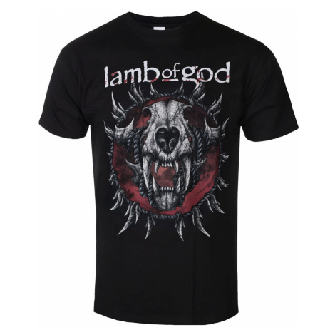 Metal T-Shirt Männer Lamb of God - Radial - ROCK OFF - LAMBTS10MB S