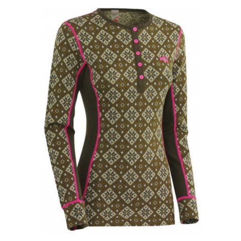 T-Shirt Kari Traa Rose LS MOSS