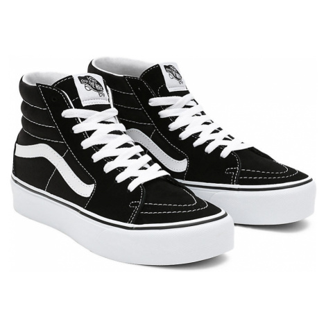 VANS Suede Sk8-hi Platform 2.0 Schuhe (black-true White) Damen Schwarz