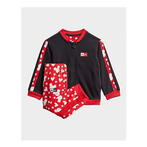 Adidas Minnie Mouse Jogginganzug - Black / Vivid Red / White, Black / Vivid Red / White