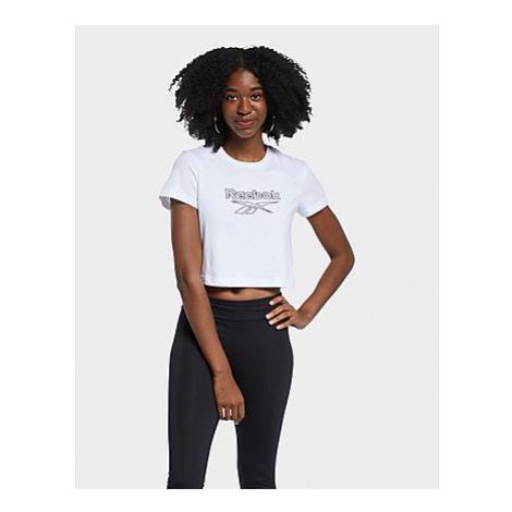 Reebok classics foundation big logo t-shirt - White - Damen, White