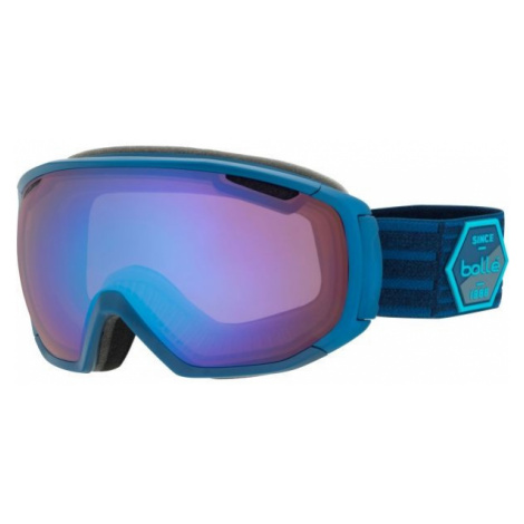 Blaue skibrillen