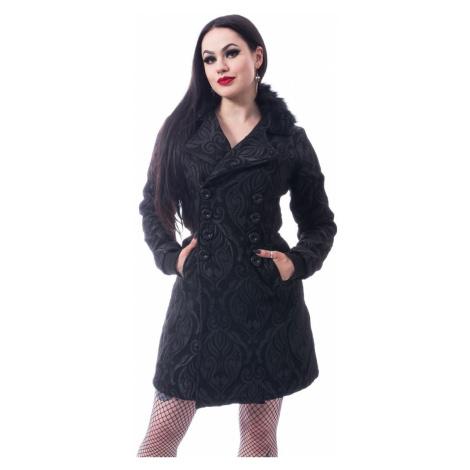 Damen Mantel Poizen Industries - CRAFT COAT - SCHWARZ - POI908